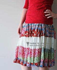 Re-purpose Dress to Skirt