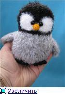 FREE Fuzzy Penguin Amigurumi Crochet Pattern / Tutorial (use Google Translate)