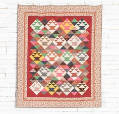 Vintage Baskets Quilt Kit by Debbie Caffrey featuring Boundless Civil War Reproduction Fabric   Craftsy