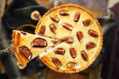 Na ettől besírsz: fügés-túrós linzerpite Naan, Winter Food, Food And Drink, Baking, Sweet, Recipes, Kitchen, Candy, Cooking