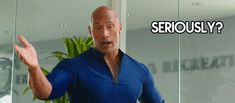 New party member! Tags: funny reaction comedy seriously dwayne johnson baywatch baywatch movie