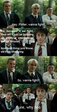 I pinned this because... Harry Potter...oh my gods this is brilliant...