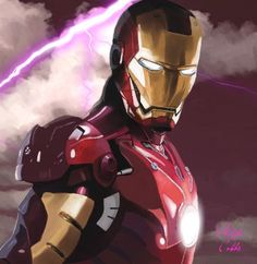 Iron Man by on DeviantArt Iron Man Suit, Superhero, Artwork, Fictional Characters, Work Of Art