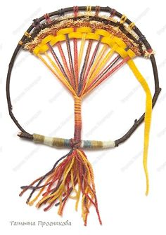 tree of life weaving tutorial Weaving Textiles, Weaving Art, Loom Weaving, Art For Kids, Crafts For Kids, Crafts To Make, Circular Loom, Forest School Activities, Jr Art