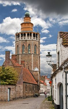The Jerusalem Church in Brugge, Belgium - built in the 1st half of the 15th century.