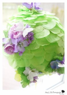 DIY – Fairy Flower Pinata | A Dazzle Day