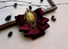 """Брошь """"Гранатовый браслет"""" – купить или заказать в интернет-магазине на Ярмарке Мастеров   Все прекрасно в этой броши - и материал, и…"""