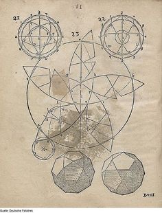 geometryofdopeness: Hirschvogel Geometria (1543) Medieval math reblog.