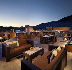 Penthouse Deck In Aspen. Amazing