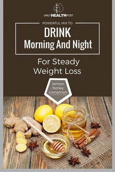 Weight loss isn_t just about dieting or working out, it_s a set of healthy habits that you truly have to adopt into your everyday life. This is why having a drink for weight loss is a great thing to do every day.
