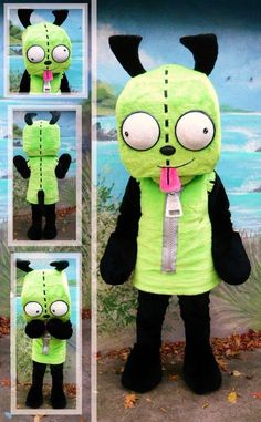 invader zim costumes for sale | GIR gir costume