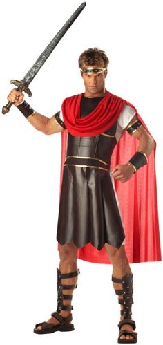 California Costumes Men s Adult-Hercules Costume  Complete the Impossible  Tasks! Our Men s Hercules Costume is Definitely Up to the Task of Making  You Look ... 116c945af94