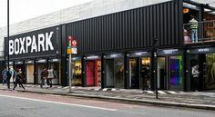 Londres – Recyclage : Le centre commercial s'appelle BOXPARK et est entièrement réalisé à partir de conteneurs recyclés !
