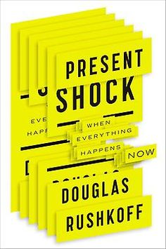 Every claim that media theorist Douglas Rushkoff makes in Present Shock is both illuminating and terrifying. He puts a mirror up to a generation already obsessed with self-reflection. [Natalie]
