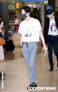160802 SHINee Taemin - Incheon International Airport from Texas