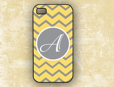 iPhone+5+case++Yellow+and+gray+chevron++by+ToGildTheLily+on+Etsy,+$16.99