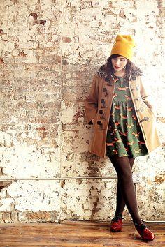 11660eba547 Superheroes and Sly Foxes brown tights. Christina Smrecek · Keiko Lynn