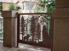 Custom Gates for Driveways, Decks, Balconies or Stairs