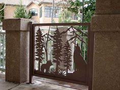Custom Gates for Driveways, Decks, Balconies or Stairs