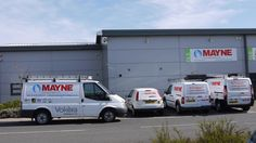 Mayne Gas Heating Ltd premises at E5 The Enterprise Village, Grimsby. DN31 3AT.