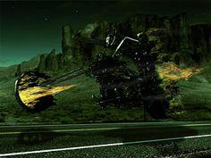 Ghost Rider Digital Art - A Ghost Rider by Jeremy Martinson