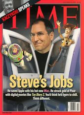 Time Cover Store - Steve Jobs