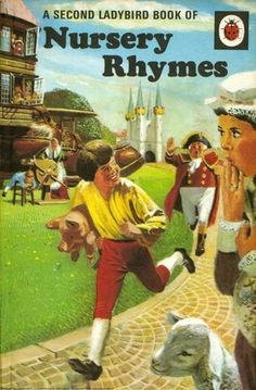 Ladybird A Second Ladybird Book Of Nursery Rhymes Series 413 Ladybird Books, Thing 1, Little Golden Books, My Childhood Memories, 1970s Childhood, Vintage Children's Books, Nursery Rhymes, Childrens Books, My Books