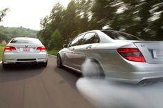 BMW M3 vs MERCEDES C63 AMG - Fast Mercedes C63 Amg, Bmw M3, Transportation, Cars, Vehicles, Collection, Autos, Rolling Stock, Automobile