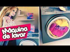 Como fazer Pasta com Elástico para Barbie e outras Bonecas - YouTube