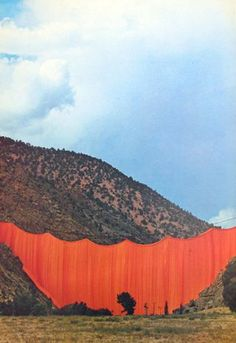 What the heck is the point to this? Valley Curtain, Rifle, Colorado, — Christo and Jeanne-Claude