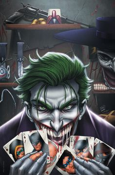 Joker - Year of the Villain - Complete Cover Checklist Joker Comic, Joker Dc Comics, Joker Art, Dc Comics Art, Joker Und Harley Quinn, Midtown Comics, Batman Universe, Batman Vs, Dark Night