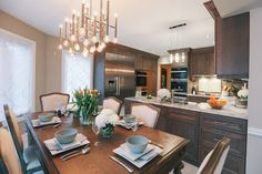 After pictures of a full kitchen gut in Ancaster, ON by Dima Ahmad, Principal Designer at Designs By Dima