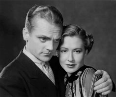 James Cagney and Mae Clarke -Lady Killer (1933)