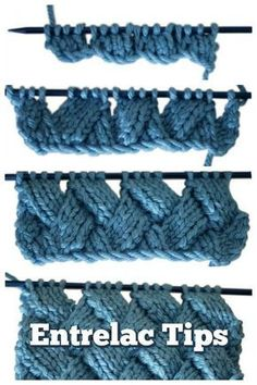 Entrelac knitting looks scary, but trust me, you can handle it. - Entrelac knitting looks scary, but trust me, you can handle it! Here are some tips to help your first venture into entrelac be a success. You Can Knit Entrelac – We'll Show You How Love Knitting, Knitting Stiches, Easy Knitting, Baby Knitting Patterns, Crochet Stitches, Crochet Patterns, Stitch Patterns, Afghan Patterns, Beginner Knitting