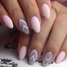 Geometric nails..❤