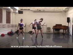 Joffrey Ballet School Jazz Class Across The Floor Exercises - Ashani Mfuko's Class - YouTube