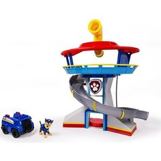 Nickelodeon, Paw Patrol – Look-out Playset Welcome To Paw Patrol HQ! Paw Patrol Lookout HQ Playset lets kids bring home the headquarters of the Paw Patrol pups. Just like in the show, Ryder has called the Paw Patrol to the … Continue reading → Paw Patrol Badge, Paw Patrol Pups, Paw Patrol Party, Toys R Us, Toddler Toys, Kids Toys, Children Play, Toddler Stuff, Pop Up 3d
