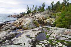 Lake Superior shore - A Day From Hell on the Coastal Trail in Pukaskwa National Park