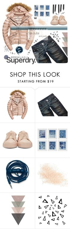 """""""The Cover Up – Jackets by Superdry: Contest Entry"""" by meryfern ❤ liked on Polyvore featuring Fuji, Thomas Wylde, Jil Sander, Williams-Sonoma, Superdry, Urbanears, Eve Lom, Nika, superdry and polyvorecontest"""