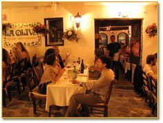 La Oliva is a fantastic Restaurant right in the heart of the Ibiza Old Town. The food is fantastic and you will love to have dinner outside while people are passing by in the cosey little streets... We see you at Oliva ... Virgil & Marisa