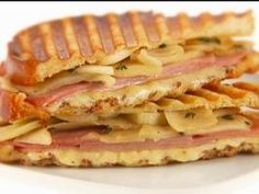 Ham, Gruyere and Apple Panini from weeknights with Giada, foodnetwork.com