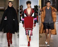 Модные тенденции осень - зима 2016 - 2017, фото - обзор
