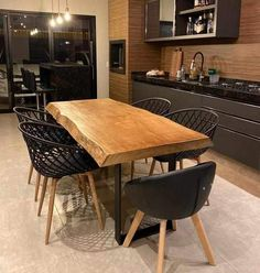 Mini Loft, Dining Chairs, Dining Table, Dinner Room, Rustic Style, Home Office, Decoration, Kitchen Decor, Sweet Home