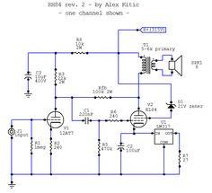RH Amplifiers: RH84 amplifier - revision 2