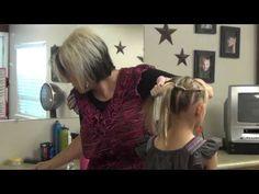 Sideways French Ponytail Hairstyles