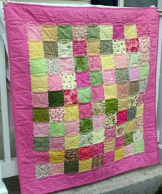 Patchwork. Looks like an easy one to start with