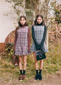 #chuu(MT) winter #style2016 #사랑해츄 #SisterAct #twinlook
