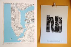 Combined shipping Reginapolis Map  Loveology by naifpanicscares, €45.00