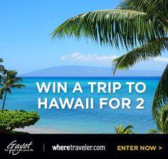 WIN TRIP FOR 2 TO HAWAIIVia @wheretraveler