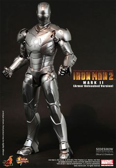 Sideshow Collectibles - Iron Man Mark II Armor Unleashed (becomes War Machine)